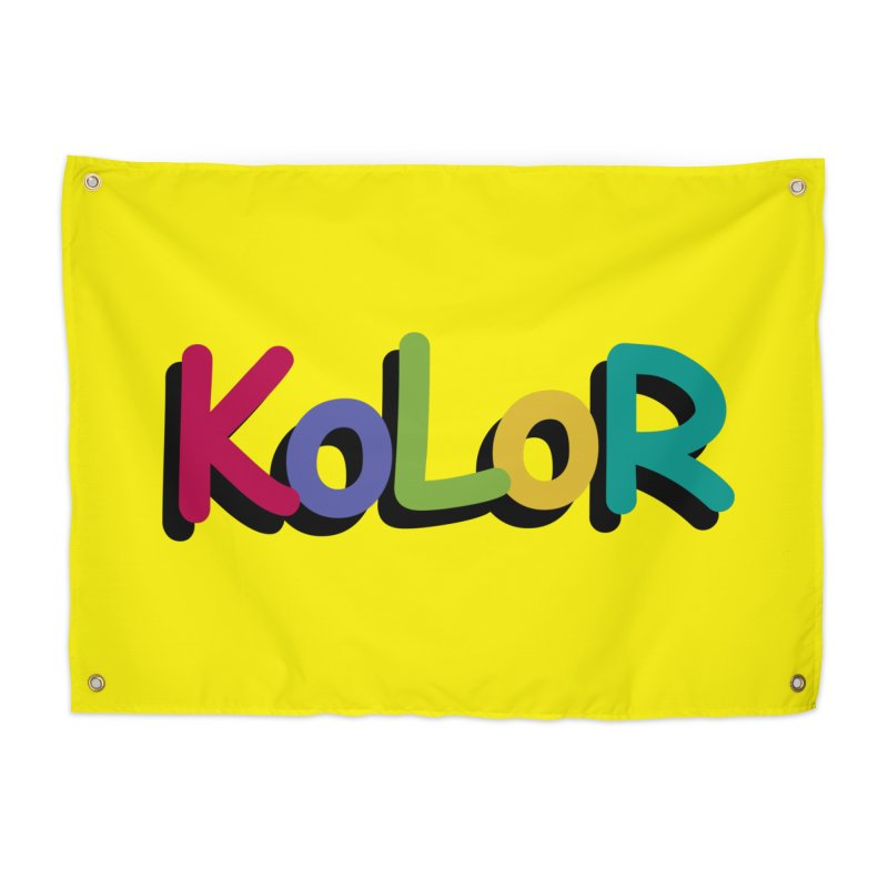 KoLoR Home Tapestry by Kong Klothing