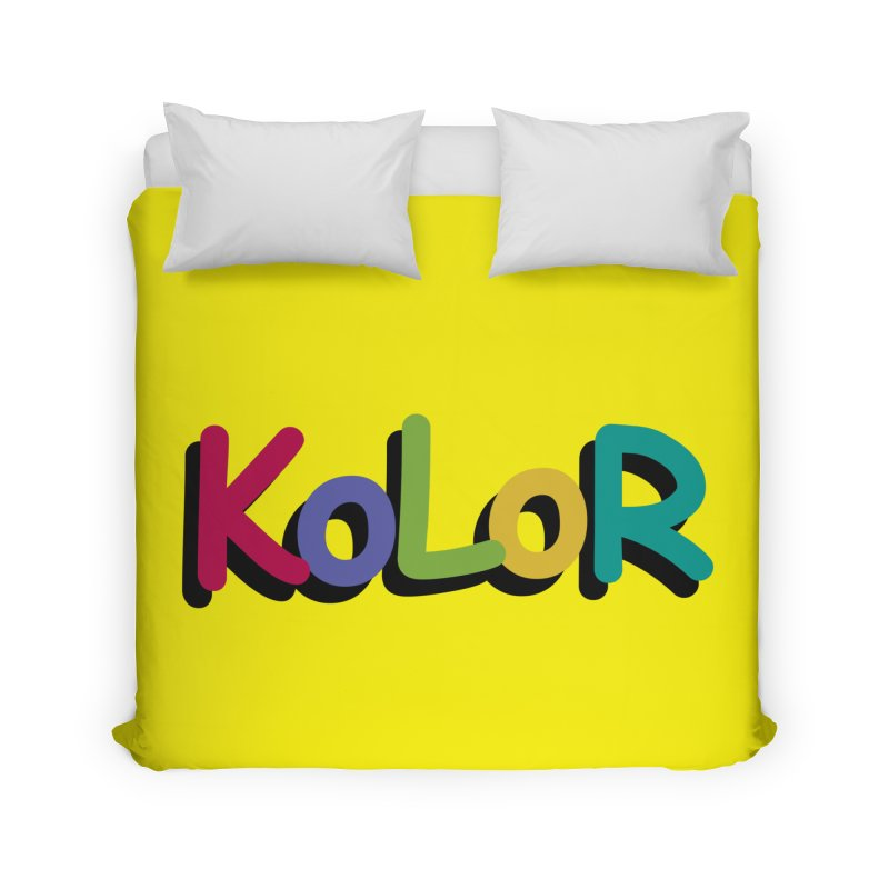 KoLoR Home Duvet by Kong Klothing