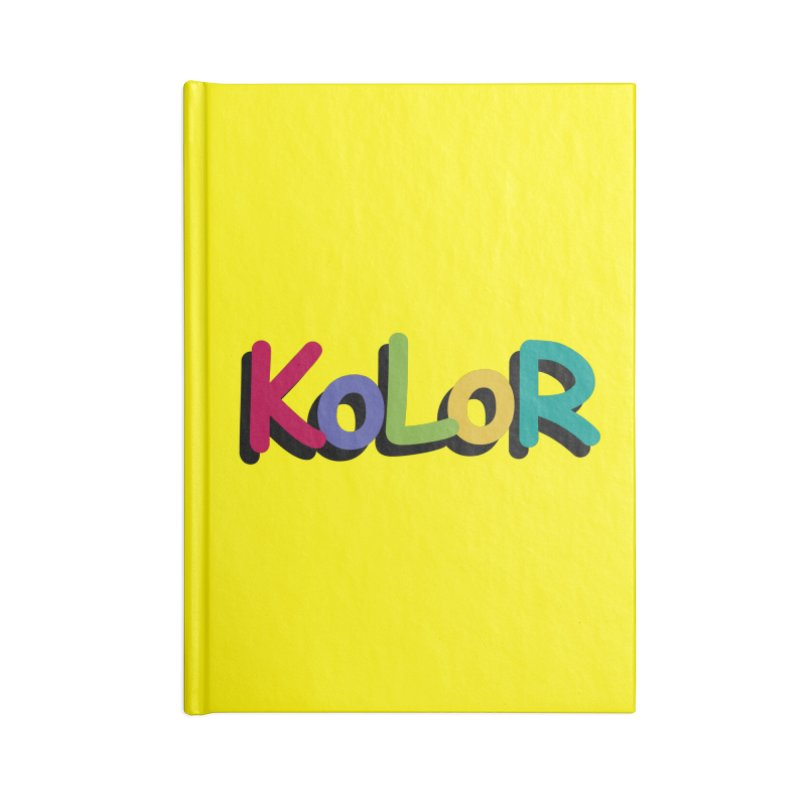 KoLoR Accessories Notebook by Kong Klothing