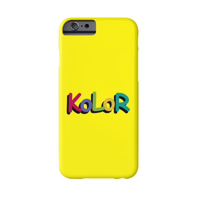 KoLoR Accessories Phone Case by Kong Klothing