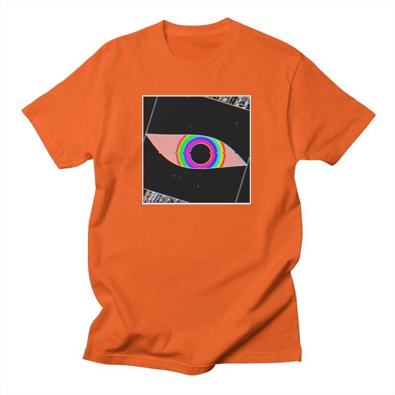 glitch.eye Men's T-Shirt by konthespacebear's Artist Shop