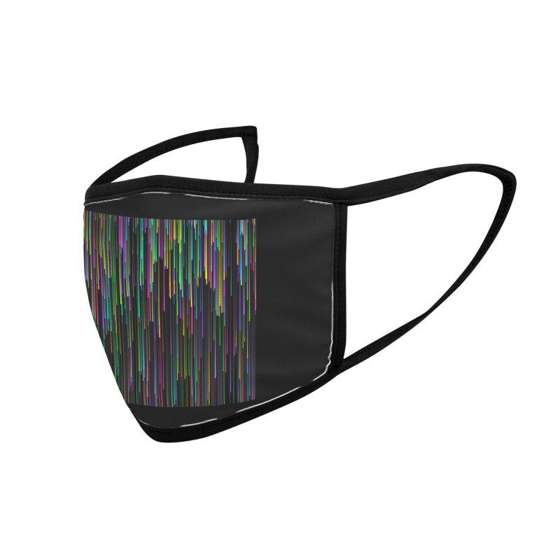 color.rain Accessories Face Mask by konthespacebear's Artist Shop