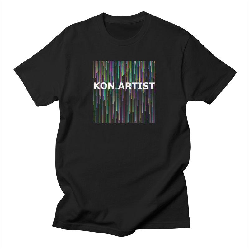 kon.the.artist Men's T-Shirt by konthespacebear's Artist Shop