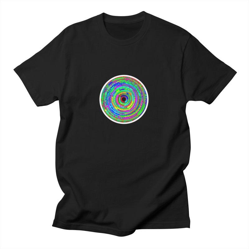 circles Men's T-Shirt by konthespacebear's Artist Shop