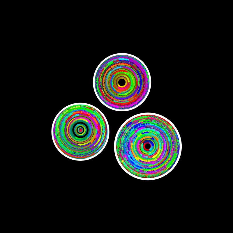 tri.circles Women's T-Shirt by konthespacebear's Artist Shop