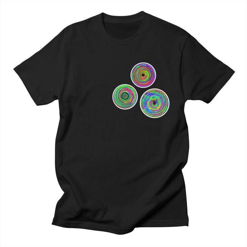 tri.circles Men's T-Shirt by konthespacebear's Artist Shop