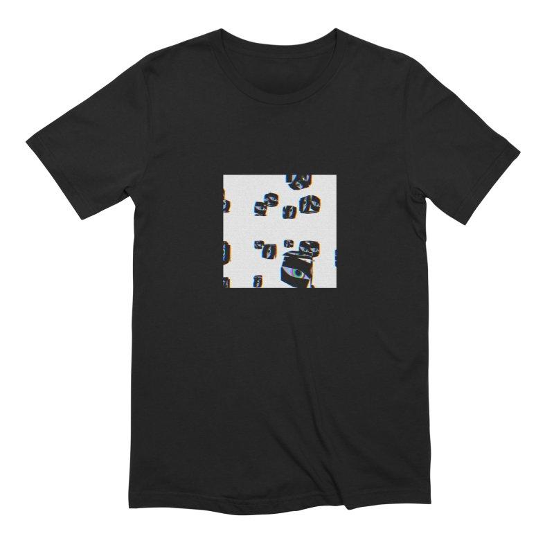 digital.eyes Men's T-Shirt by konthespacebear's Artist Shop