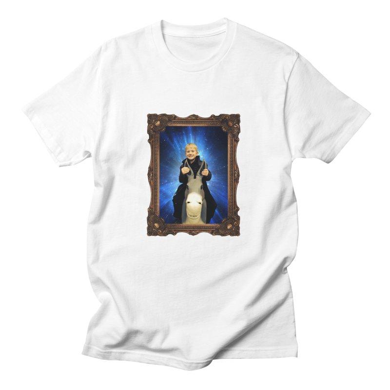 Petrovich in Space Men's T-Shirt by konthespacebear's Artist Shop