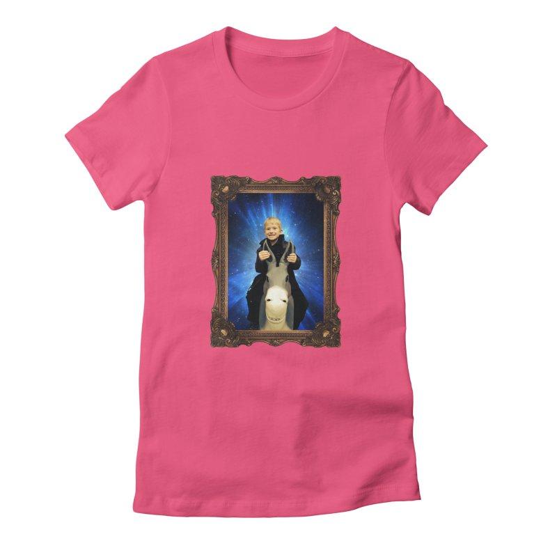 Petrovich in Space Women's T-Shirt by konthespacebear's Artist Shop