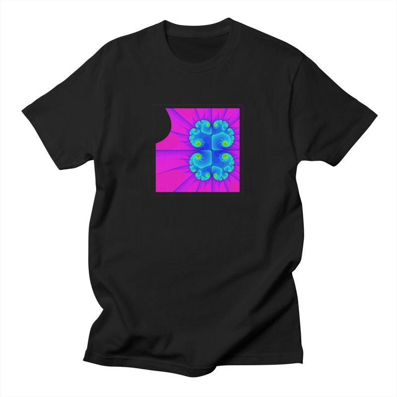 fractal Men's T-Shirt by konthespacebear's Artist Shop