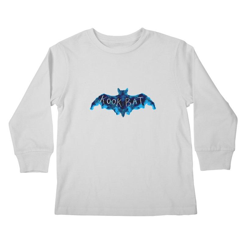 Kookbat Apparel Kids Longsleeve T-Shirt by Kookbat Creations