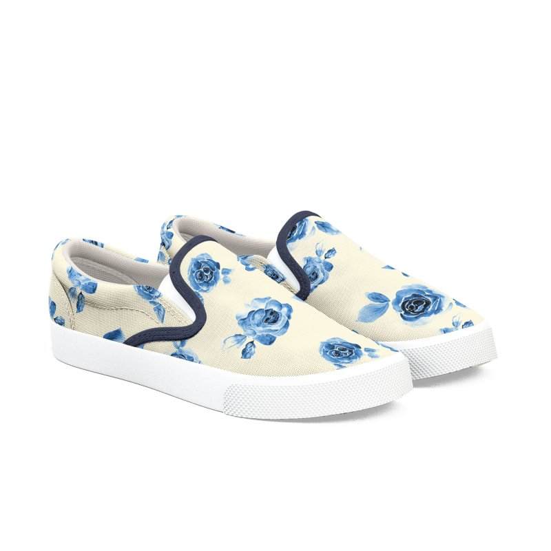 Deadly Beauty Women's Slip-On Shoes by kooky love's Artist Shop