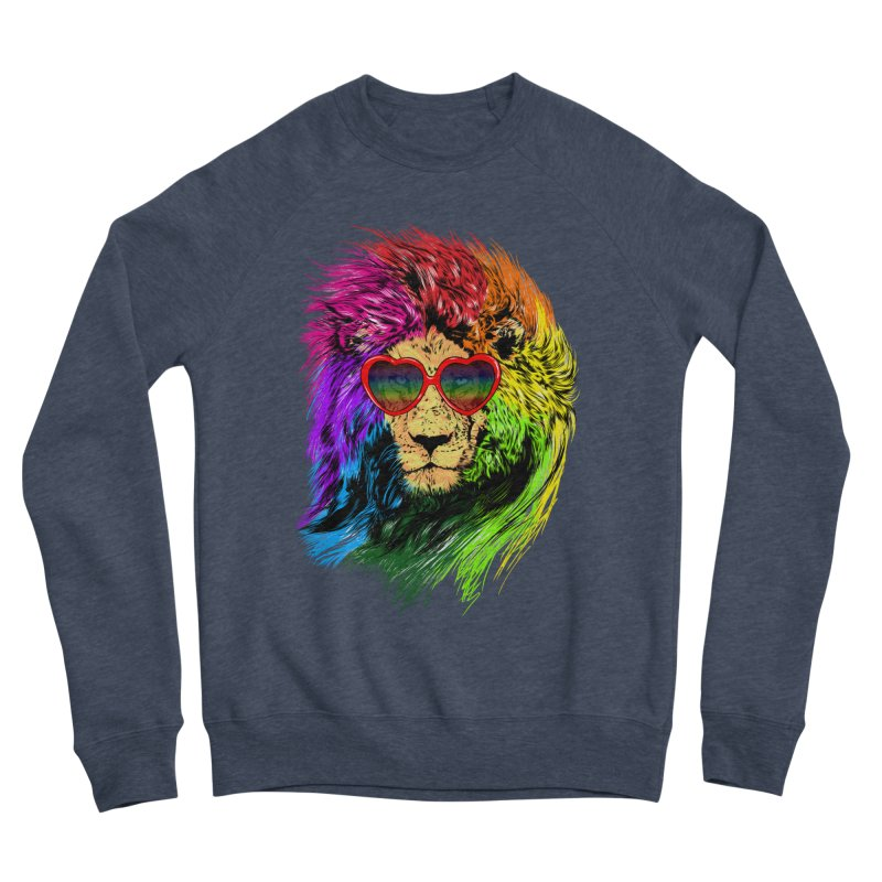 Pride Lion Men's Sponge Fleece Sweatshirt by kooky love's Artist Shop