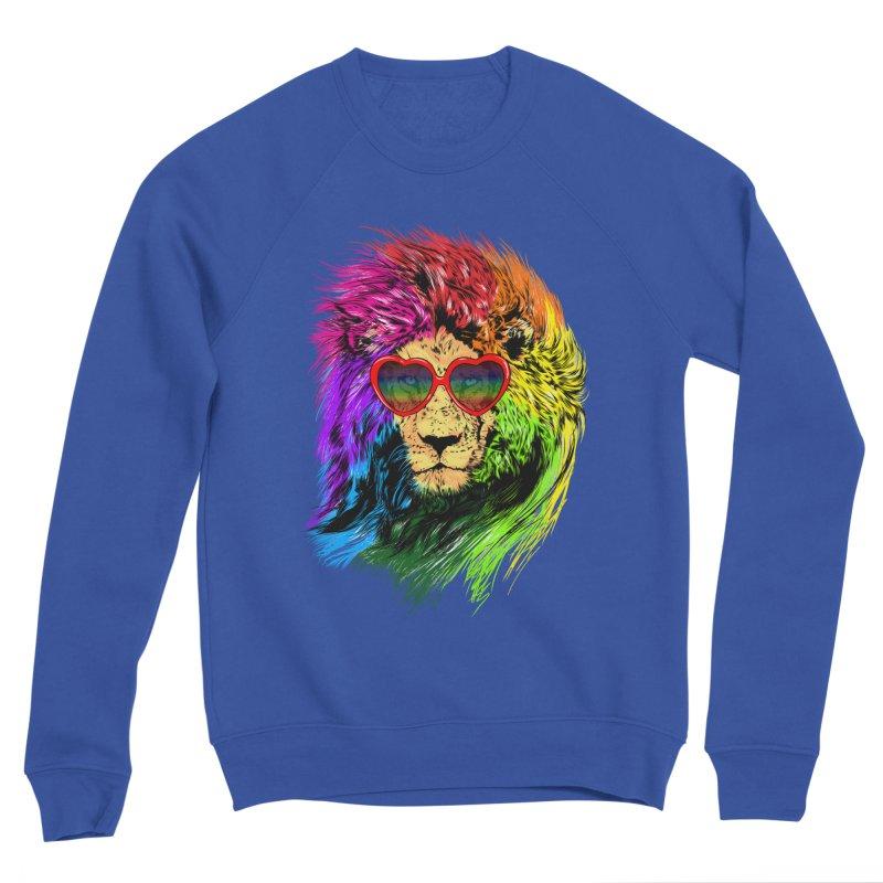 Pride Lion Women's Sponge Fleece Sweatshirt by kooky love's Artist Shop