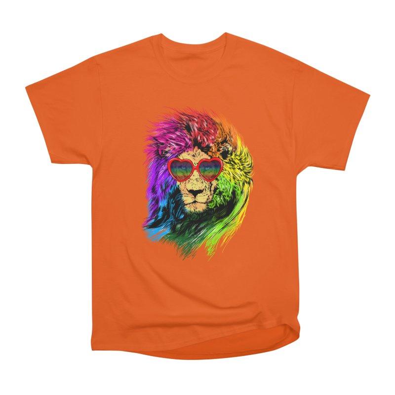 Pride Lion Men's Heavyweight T-Shirt by kooky love's Artist Shop