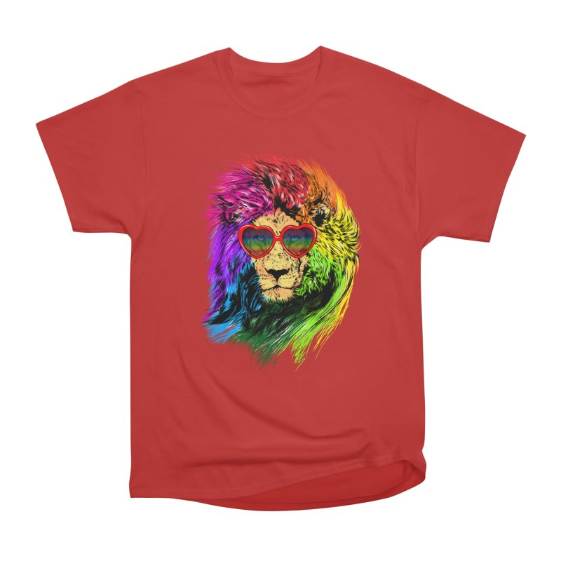 Pride Lion Women's Heavyweight Unisex T-Shirt by kooky love's Artist Shop