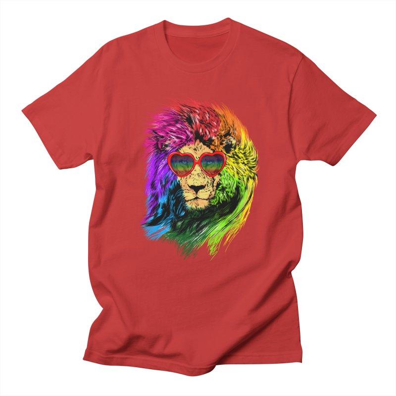Pride Lion Women's Regular Unisex T-Shirt by kooky love's Artist Shop