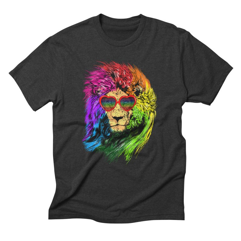 Pride Lion Men's Triblend T-Shirt by kooky love's Artist Shop