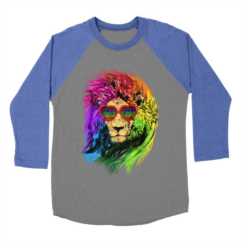 Pride Lion Women's Baseball Triblend Longsleeve T-Shirt by kooky love's Artist Shop