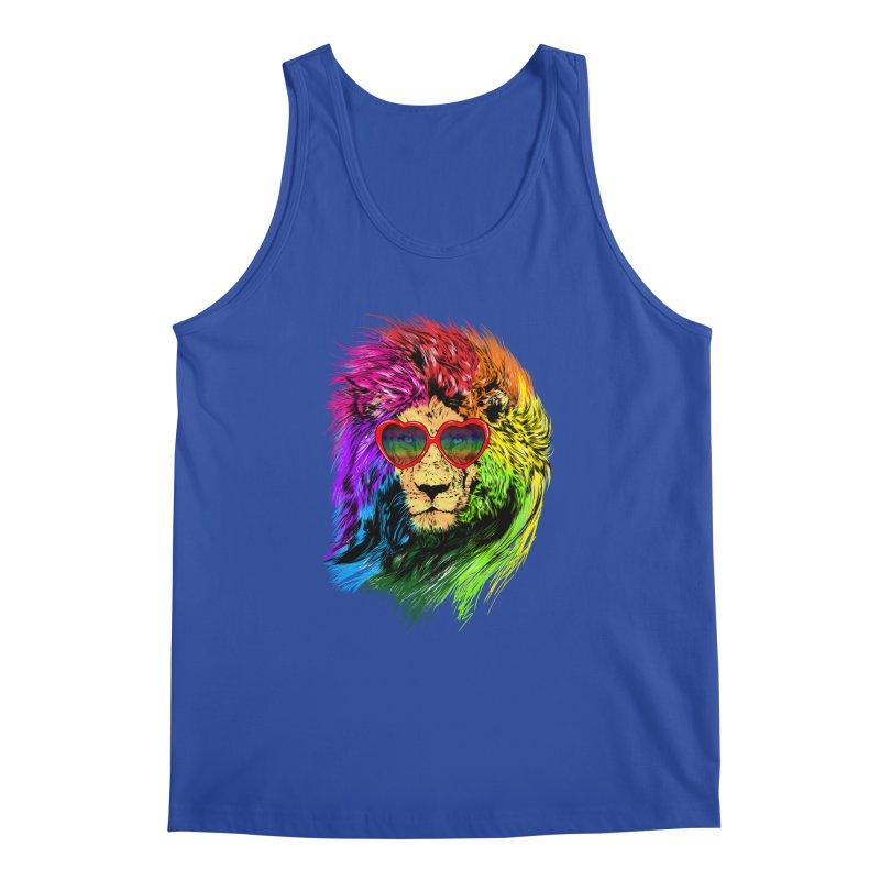 Pride Lion Men's Regular Tank by kooky love's Artist Shop