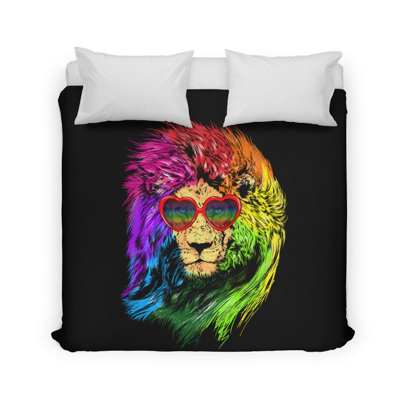 Pride Lion Home Duvet by kooky love's Artist Shop