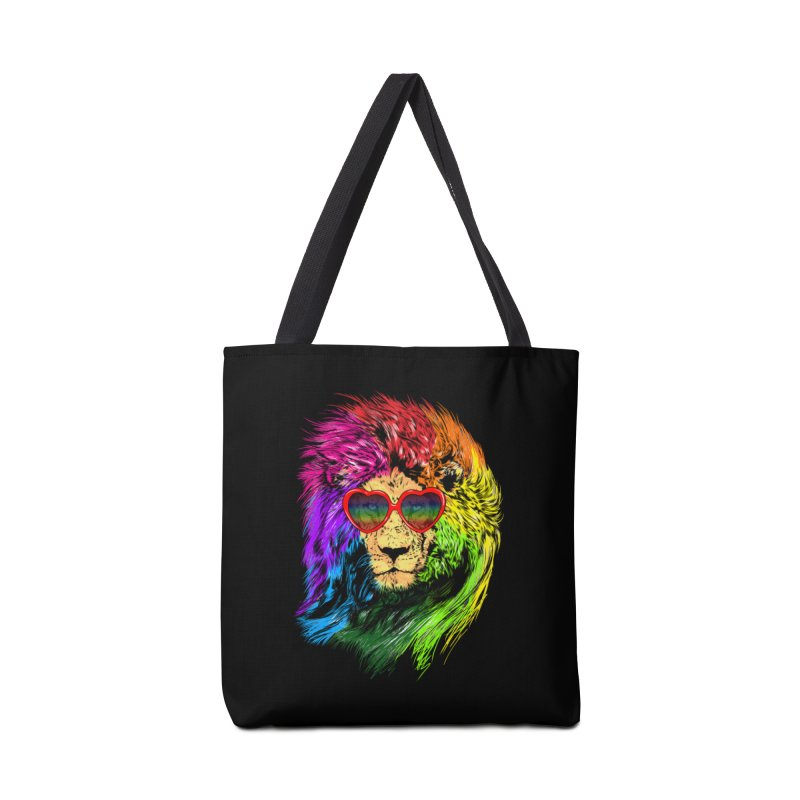 Pride Lion Accessories Tote Bag Bag by kooky love's Artist Shop