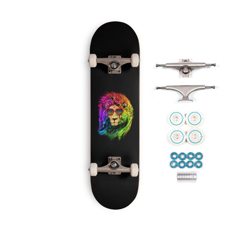 Pride Lion Accessories Complete - Basic Skateboard by kooky love's Artist Shop