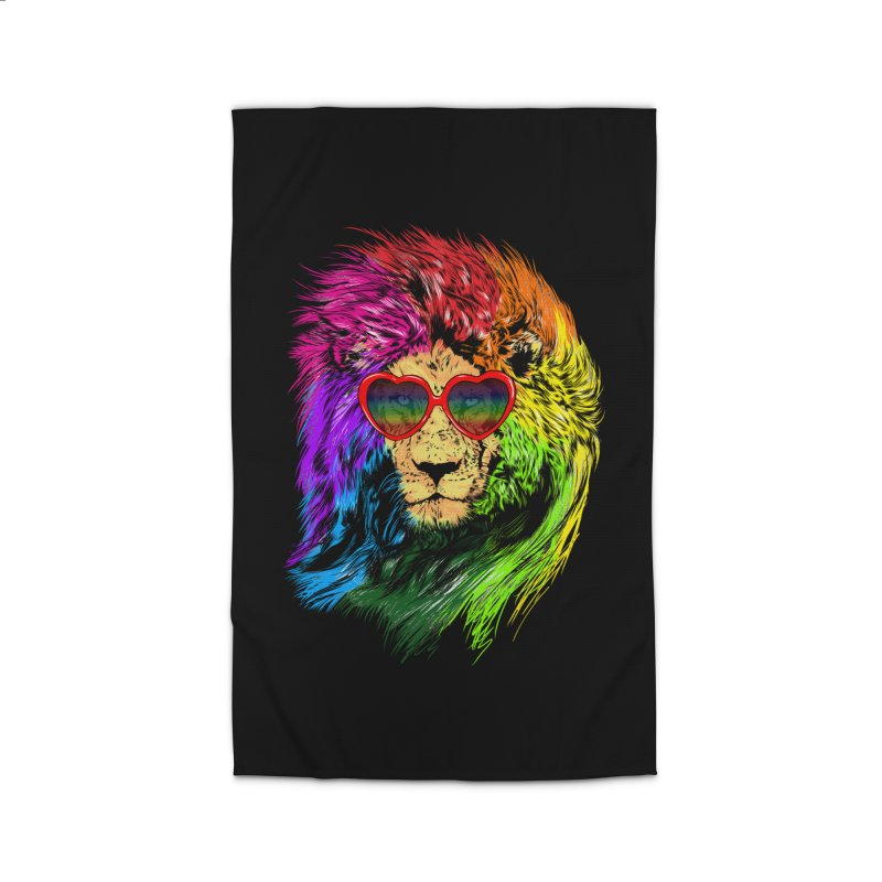 Pride Lion Home Rug by kooky love's Artist Shop