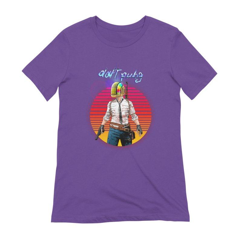 Daft Pubg Women's Extra Soft T-Shirt by kooky love's Artist Shop