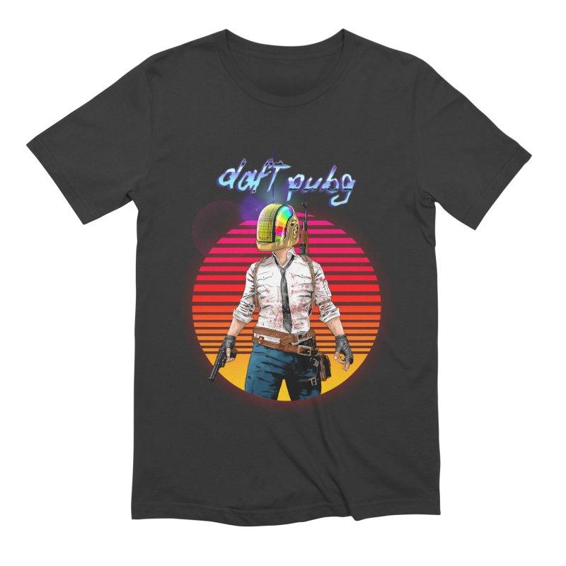 Daft Pubg Men's Extra Soft T-Shirt by kooky love's Artist Shop