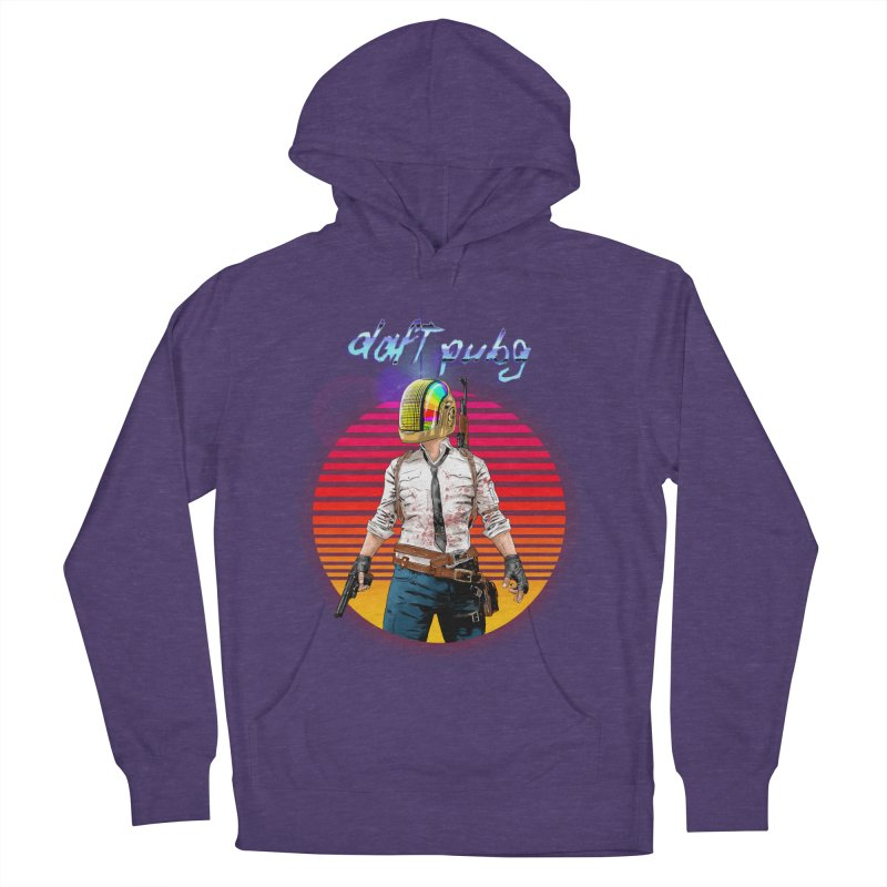 Daft Pubg Men's French Terry Pullover Hoody by kooky love's Artist Shop