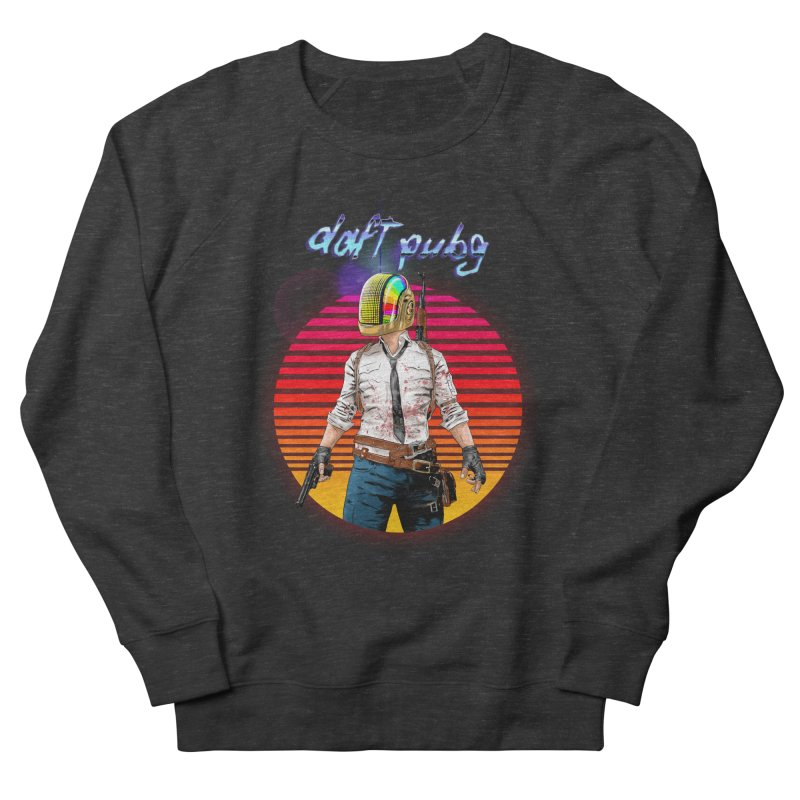 Daft Pubg Men's French Terry Sweatshirt by kooky love's Artist Shop