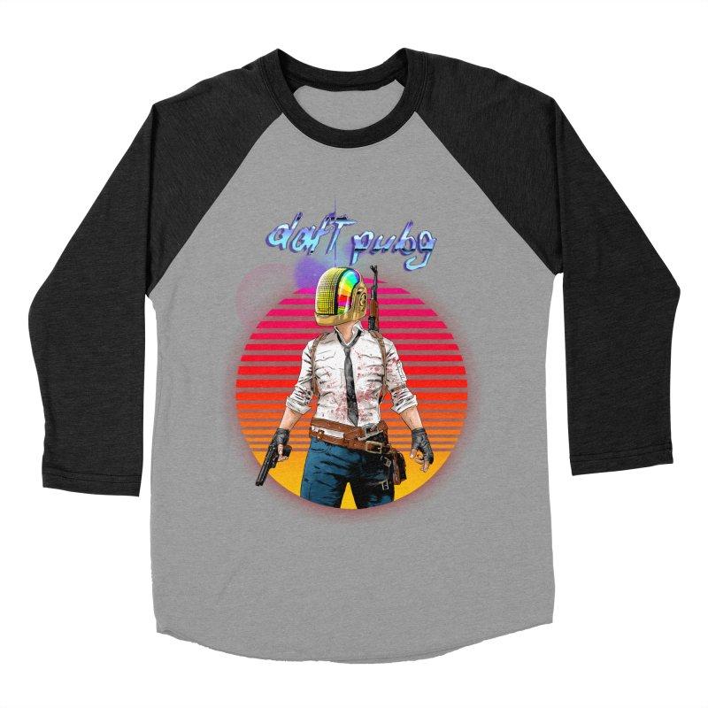 Daft Pubg Men's Baseball Triblend Longsleeve T-Shirt by kooky love's Artist Shop