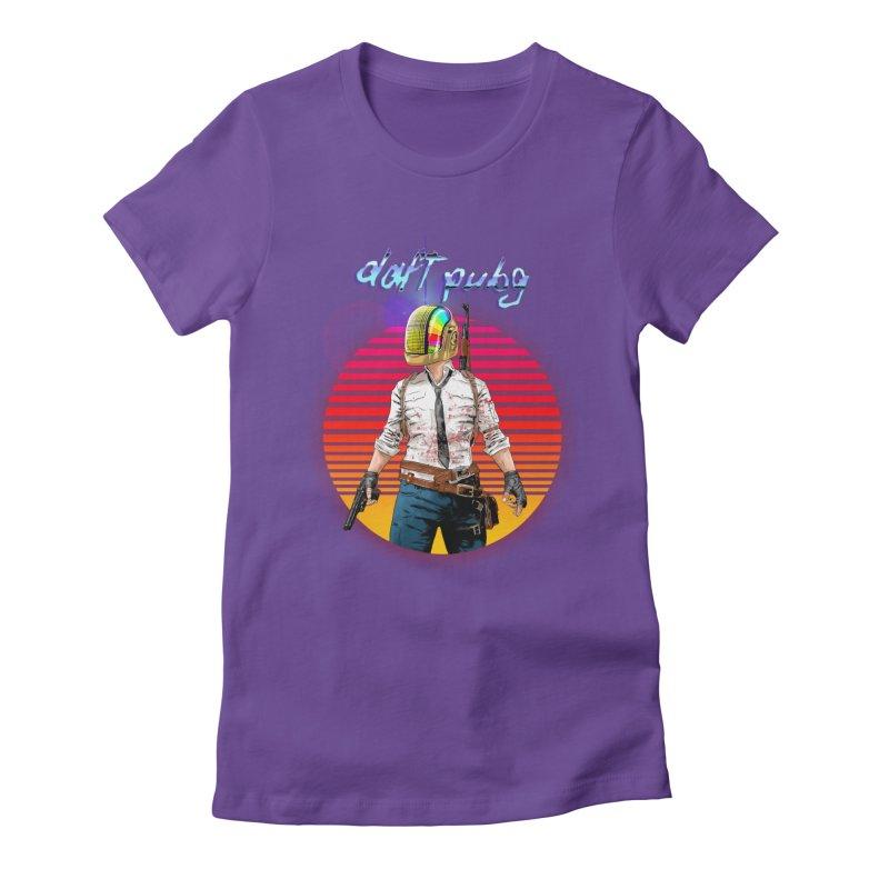 Daft Pubg Women's Fitted T-Shirt by kooky love's Artist Shop