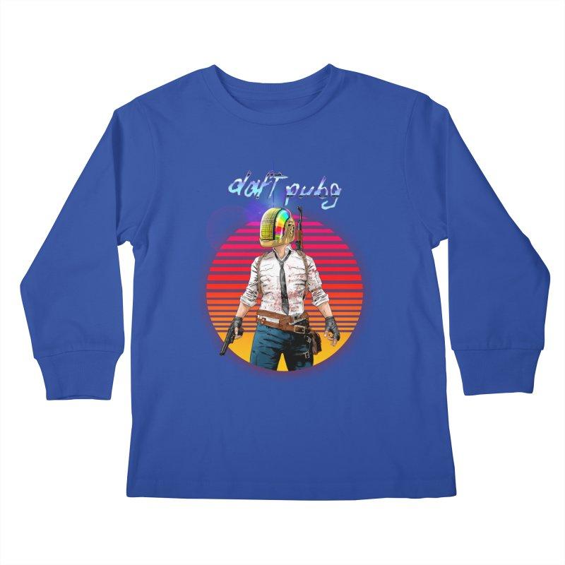 Daft Pubg Kids Longsleeve T-Shirt by kooky love's Artist Shop