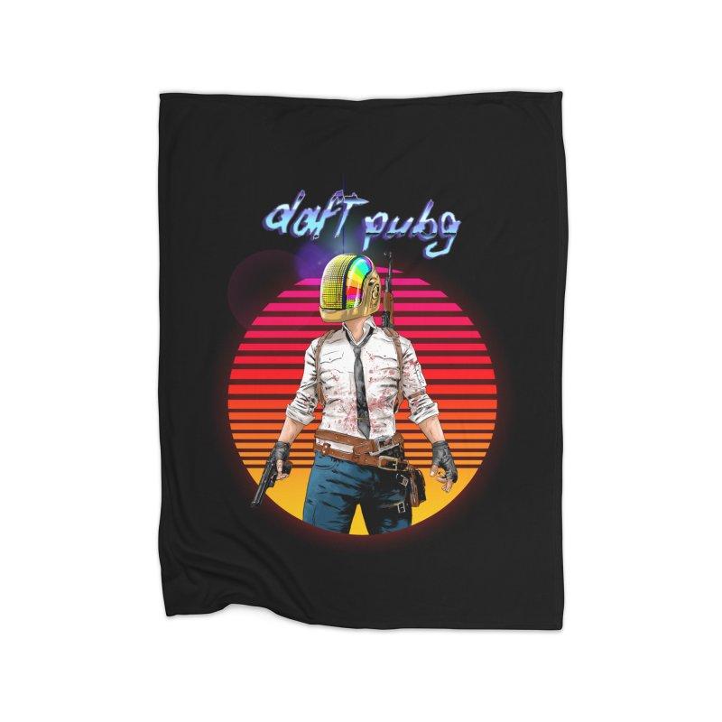 Daft Pubg Home Fleece Blanket Blanket by kooky love's Artist Shop