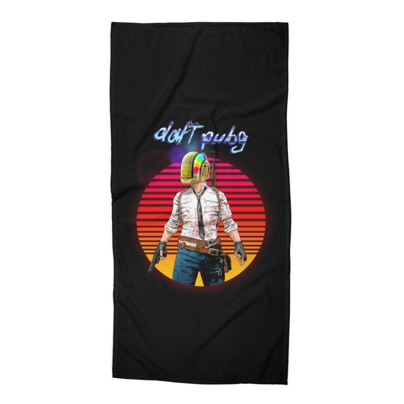 Daft Pubg Accessories Beach Towel by kooky love's Artist Shop