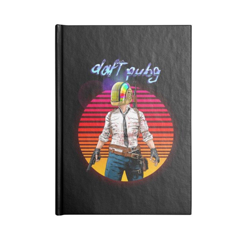 Daft Pubg Accessories Lined Journal Notebook by kooky love's Artist Shop