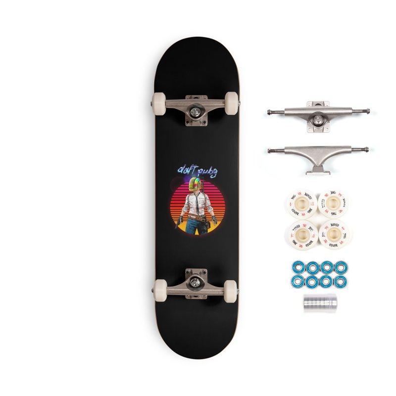 Daft Pubg Accessories Complete - Premium Skateboard by kooky love's Artist Shop