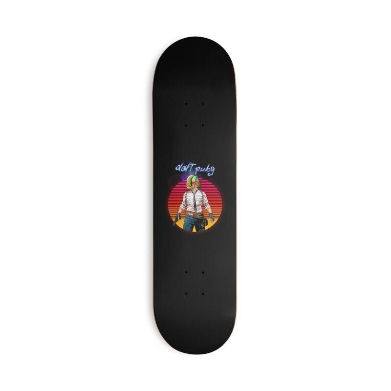 Daft Pubg Accessories Deck Only Skateboard by kooky love's Artist Shop
