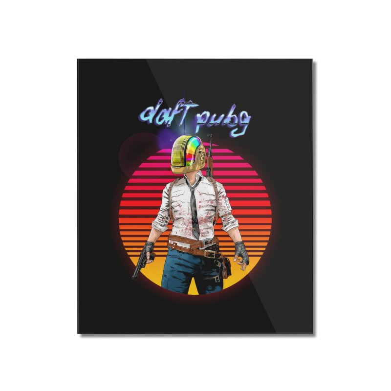 Daft Pubg Home Mounted Acrylic Print by kooky love's Artist Shop