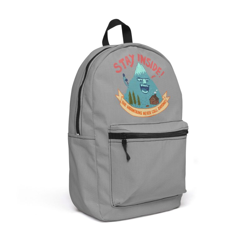 STAY INSIDE! Accessories Backpack Bag by kooky love's Artist Shop