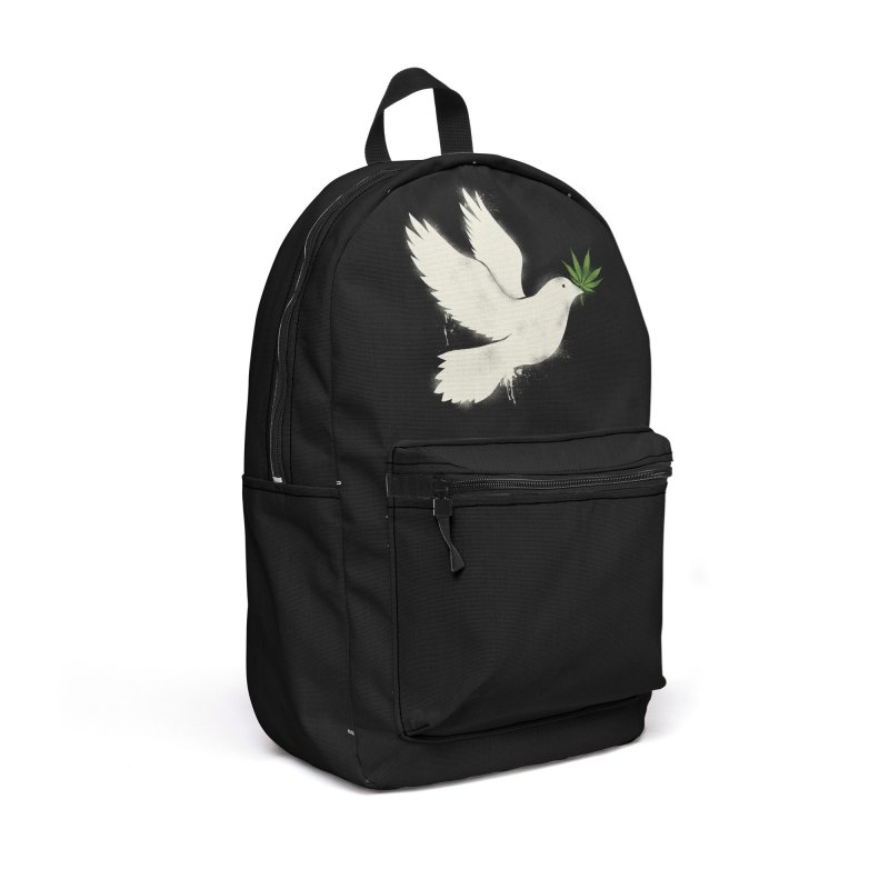 Peace Accessories Backpack Bag by kooky love's Artist Shop
