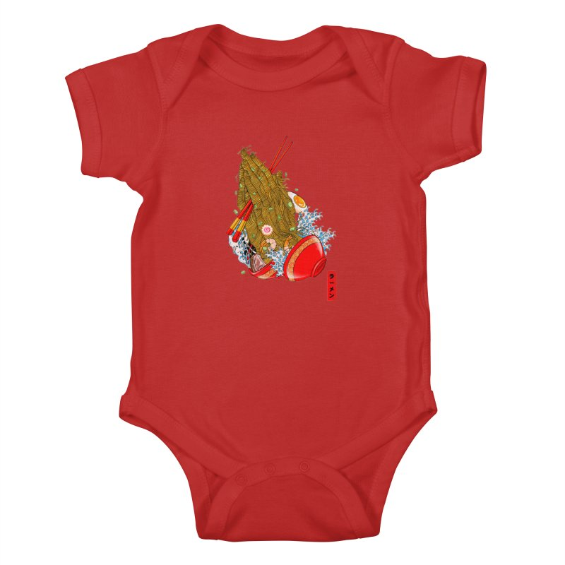 R(AMEN) Kids Baby Bodysuit by kooky love's Artist Shop