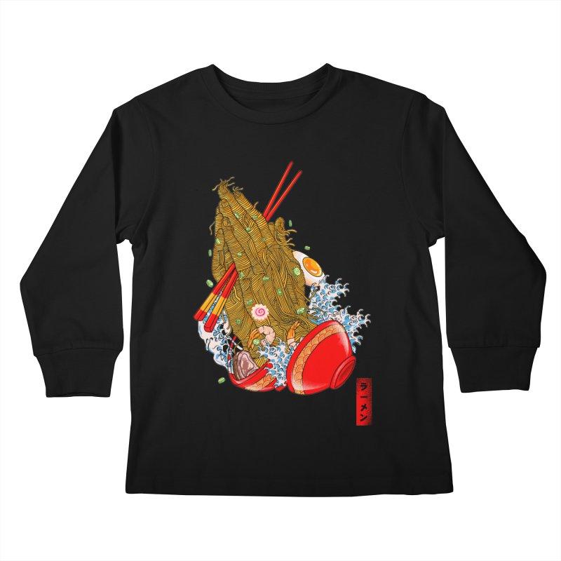 R(AMEN) Kids Longsleeve T-Shirt by kooky love's Artist Shop