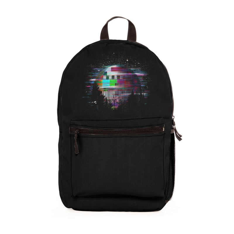 The moon glitches Accessories Bag by kooky love's Artist Shop