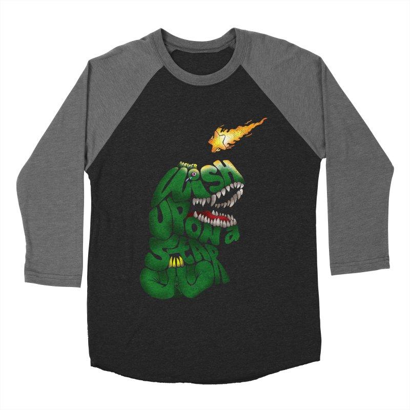 Wish upon a star Men's Baseball Triblend Longsleeve T-Shirt by kooky love's Artist Shop