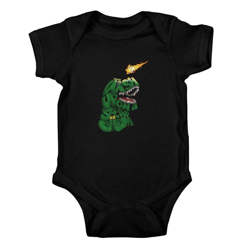 Wish upon a star Kids Baby Bodysuit by kooky love's Artist Shop