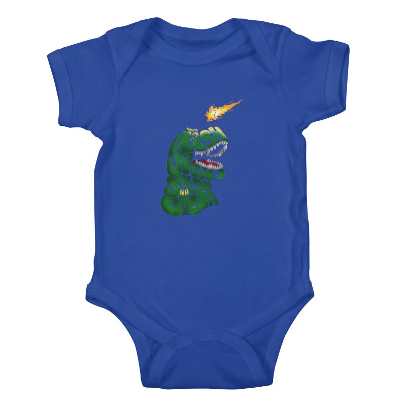Wish upon a star Kids Baby Bodysuit by kooky love's Artist Shop