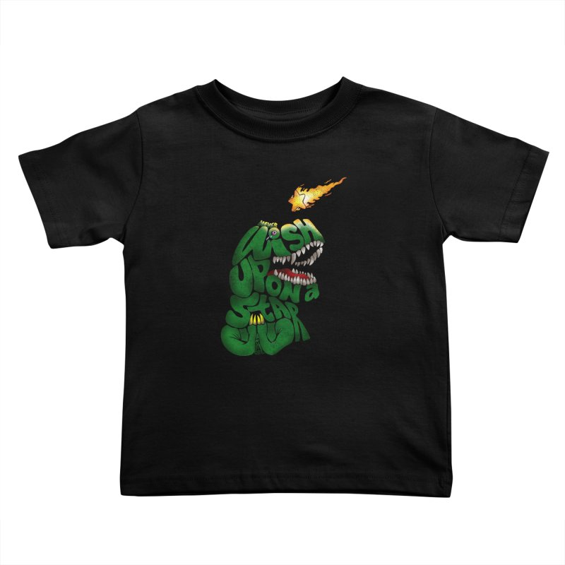 Wish upon a star Kids Toddler T-Shirt by kooky love's Artist Shop